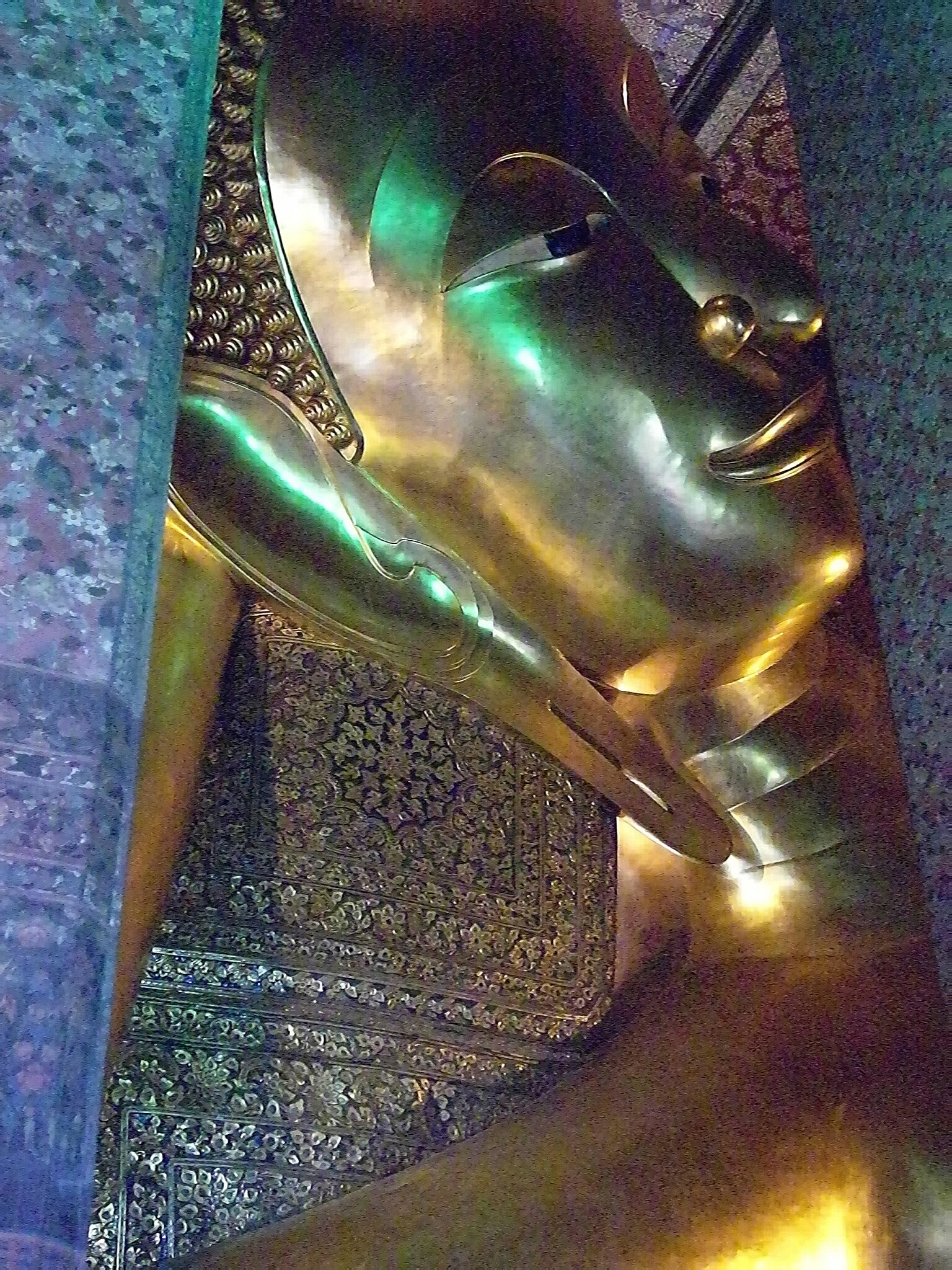 BANGKOK_Temple bouddha couché