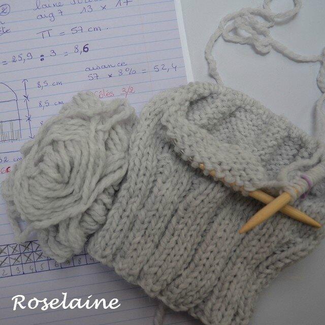 Roselaine Bonnet tricot 4