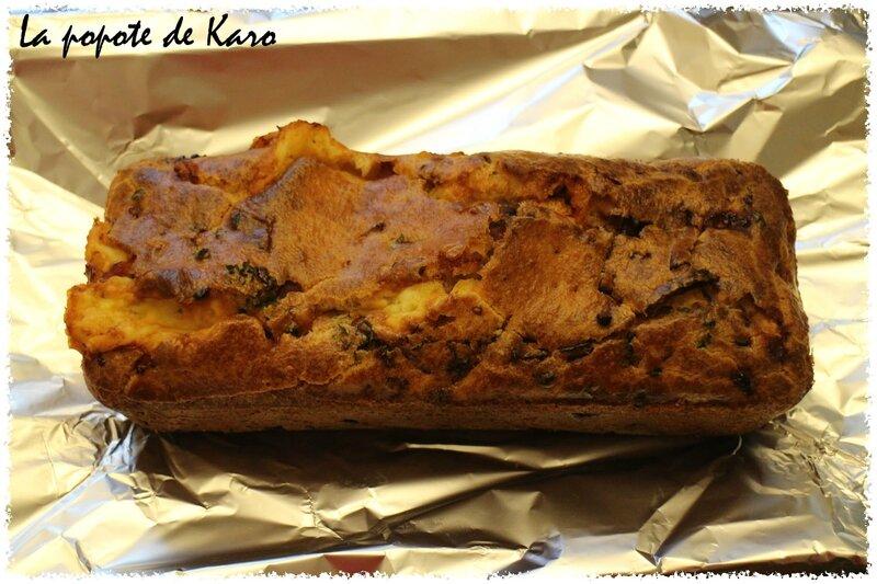 Cake au cantal entier