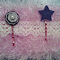 Porte barrettes pour voir la vie en rose le matin.