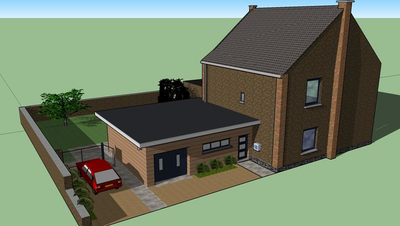 Google sketchup by ellev for Sketchup jardin