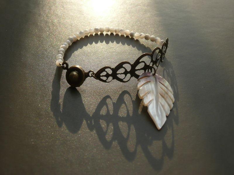 Bracelet blossom Rose