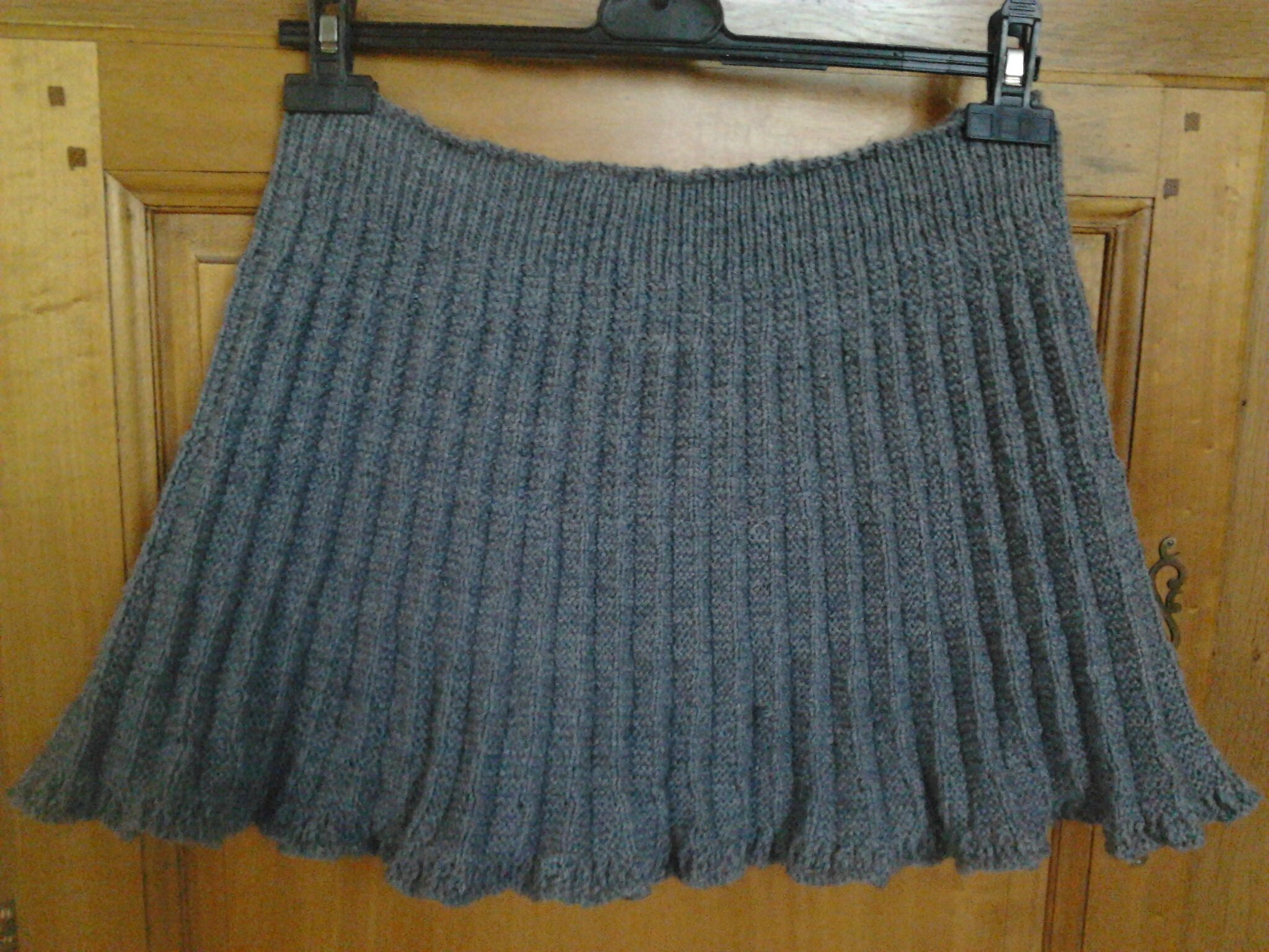jupe tricot