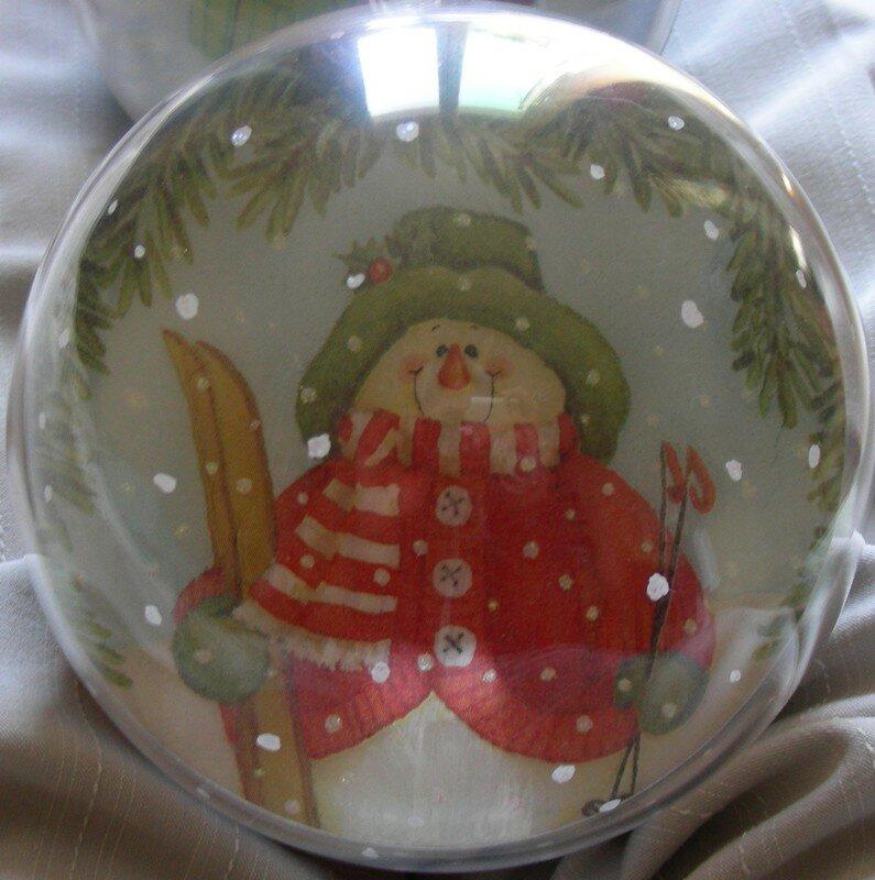 Boule 1 face b
