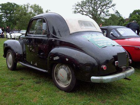 SIMCA 6 Decouvrable Exposition de voitures anciennes du Vesinet en 2009 2