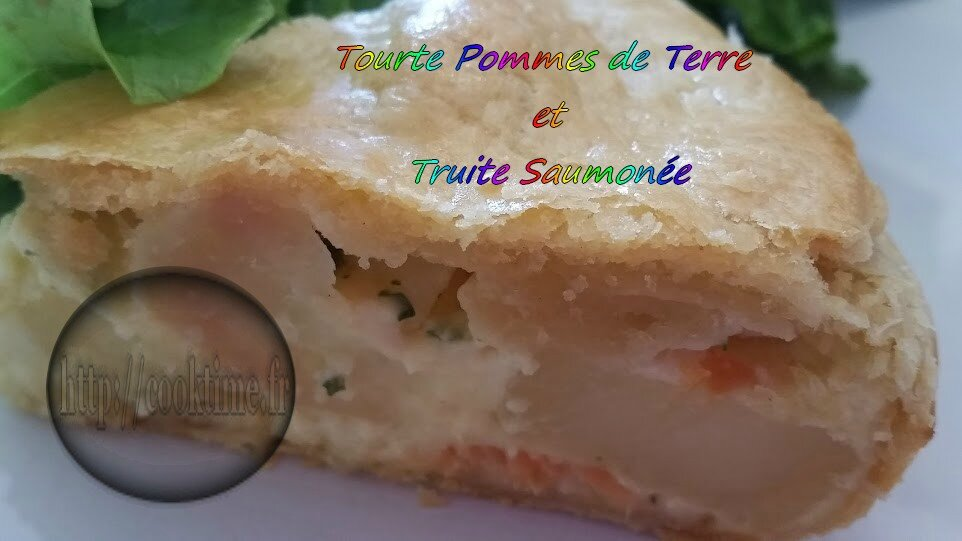 tourte aux pommes de terre et truite saumon e au thermomix cook time. Black Bedroom Furniture Sets. Home Design Ideas