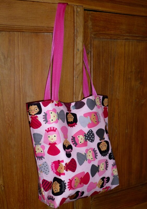 tote bag princesse PIKEBOU 6