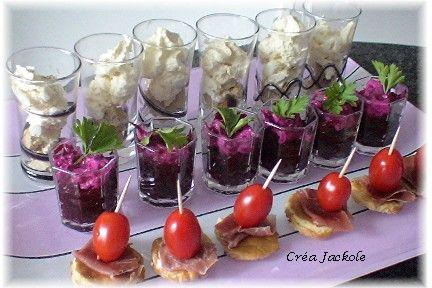 Amuse gueule 3 cr a jackole - Amuse gueule aperitif original ...