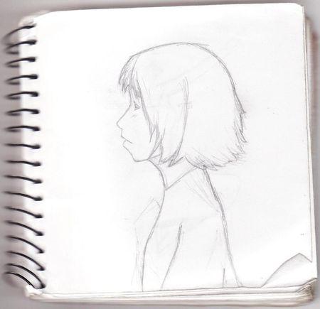 Dessin___fille_de_profil