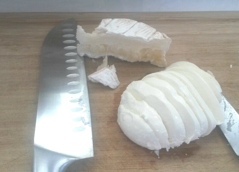 Preparation tarte fromages