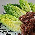 - salade de confit de canard à la japonaise -