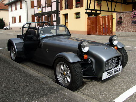 CATERHAM Super Seven Lipsheim Retro 2010 1