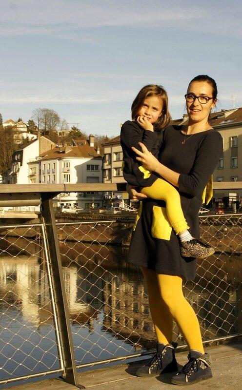 duo robe jaune 1