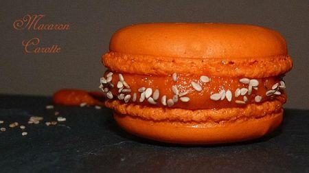 Macaron carotte1
