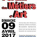 Forum des métiers d'art à ondreville sur essonne