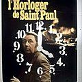 Enigme n° 26: tavernier. l'horloger de saint paul. 1973.