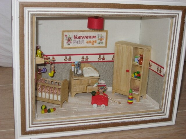 une chambre de b b. Black Bedroom Furniture Sets. Home Design Ideas