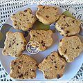Cookies à la compote et au chocolat