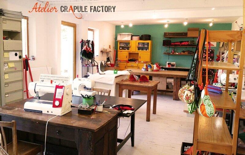 ATELIER CRAPULE FACTORY - artisan créateur maroquienire et accesoire - made in France - bébé enfant femme homme - chic et décalé à Belley - rhone alpes BUGEY BOUTIQUE en LIGNE : www.crapule-factory.com