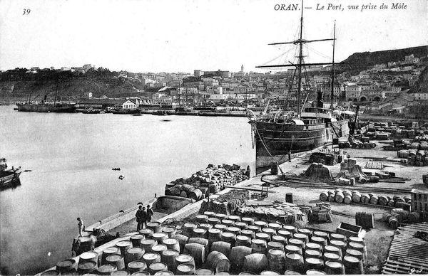 Oran- 020- travail sur les quais