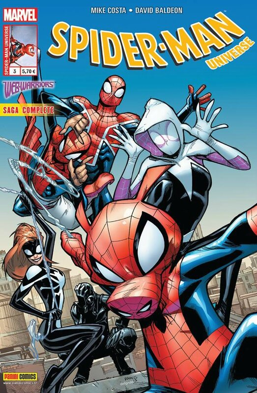 spiderman universe V2 03 webwarriors