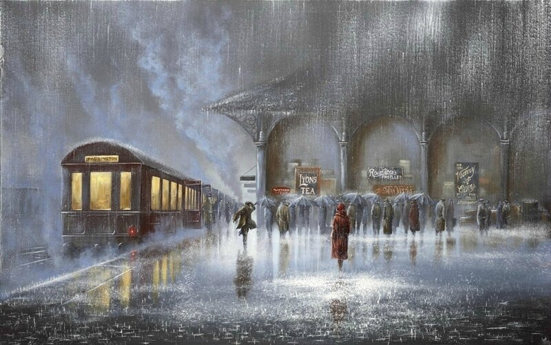 Jeff Rowland let in rain