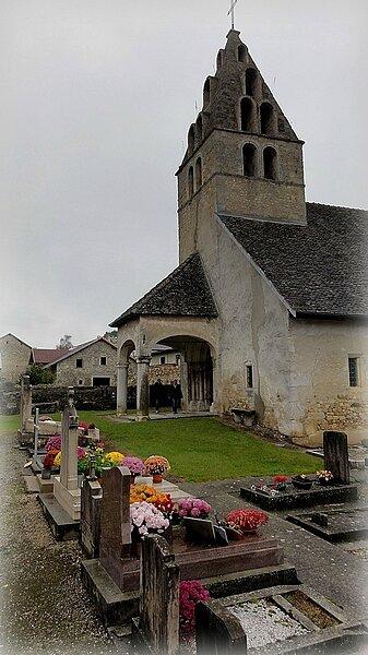 10 11 001 Eglise de Vieu (Ain) (1)1
