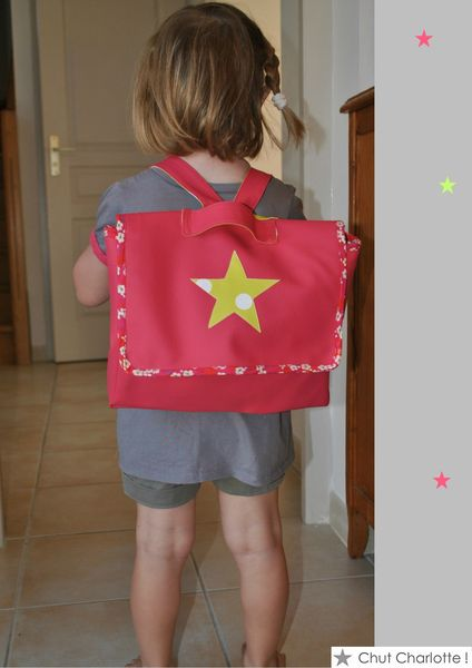 Cartable rose Chut Charlotte (8)