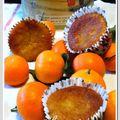 Petits gâteaux aux clémentines pochées selon nigella