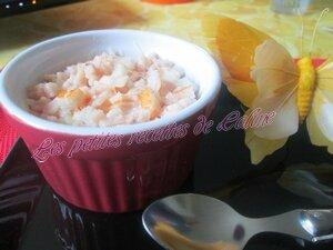 Oeufs cocotte au surimi, blanc de poulet, chorizo et gruyère râpé15