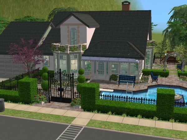 Ile de france maisons deco sims2 for Sims 4 maison moderne