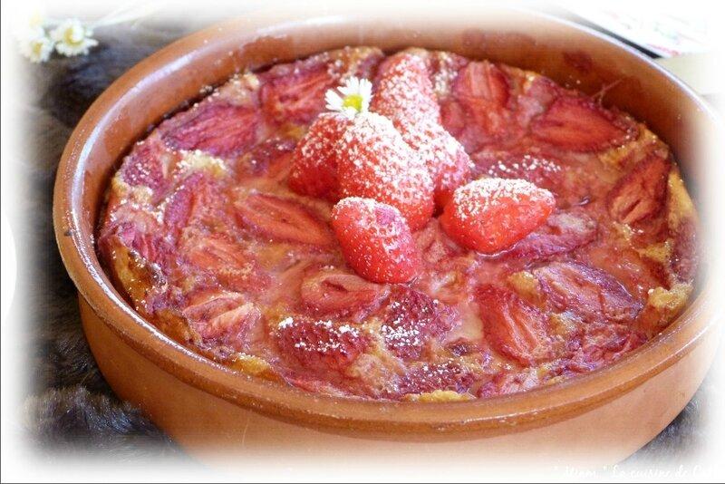 clafoutis fraises4