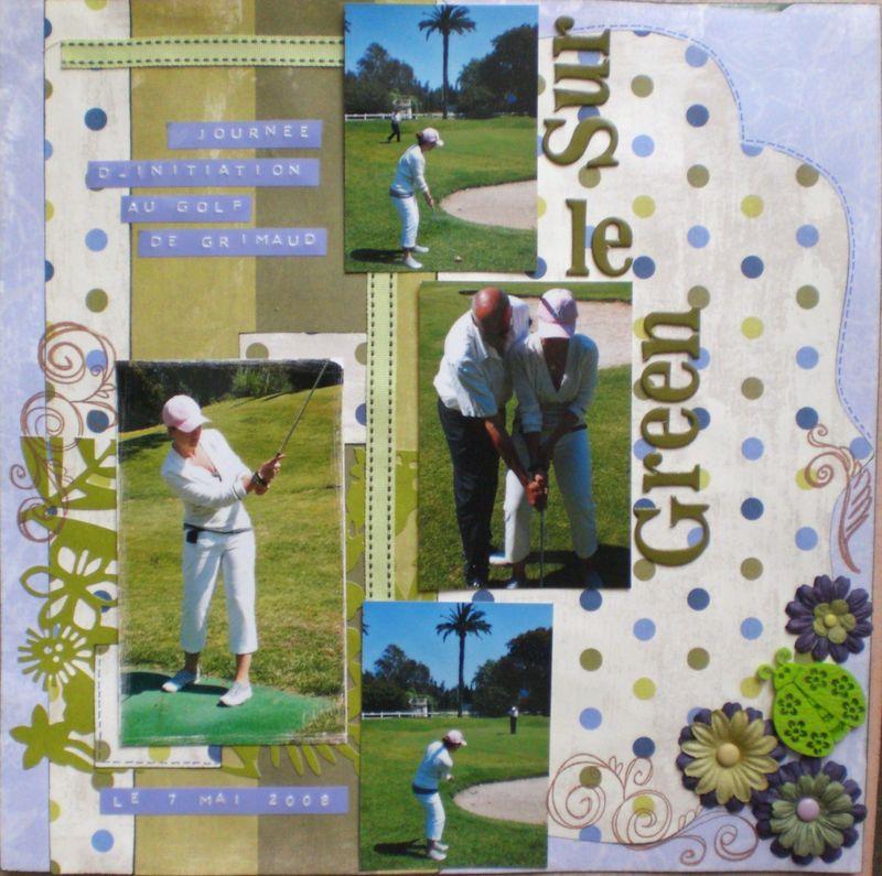 Sur le Green, Golf à Grimaud