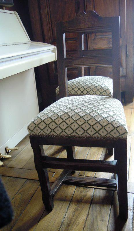 chaises stephane poissel tapissier d corateur. Black Bedroom Furniture Sets. Home Design Ideas