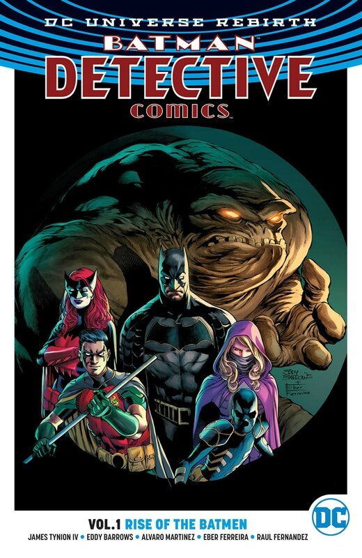 rebirth detective comics vol 01 rise of the batmen TP