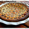 CLAFOUTIS CERISES-POLENTA