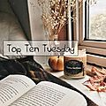 Top ten tuesday # 72