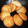 Palets à la noix de coco