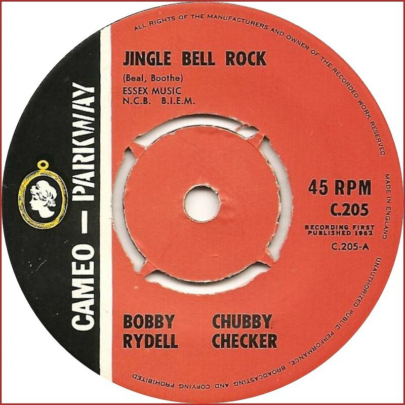 bobby-rydell-and-chubby-checker-jingle-bell-rock-cameo-parkway