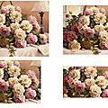 corbeille roses roses et ivoire 2