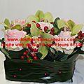 Composition florale pour deuil, livraison de fleurs deuil, pargny sur saulx et environs.