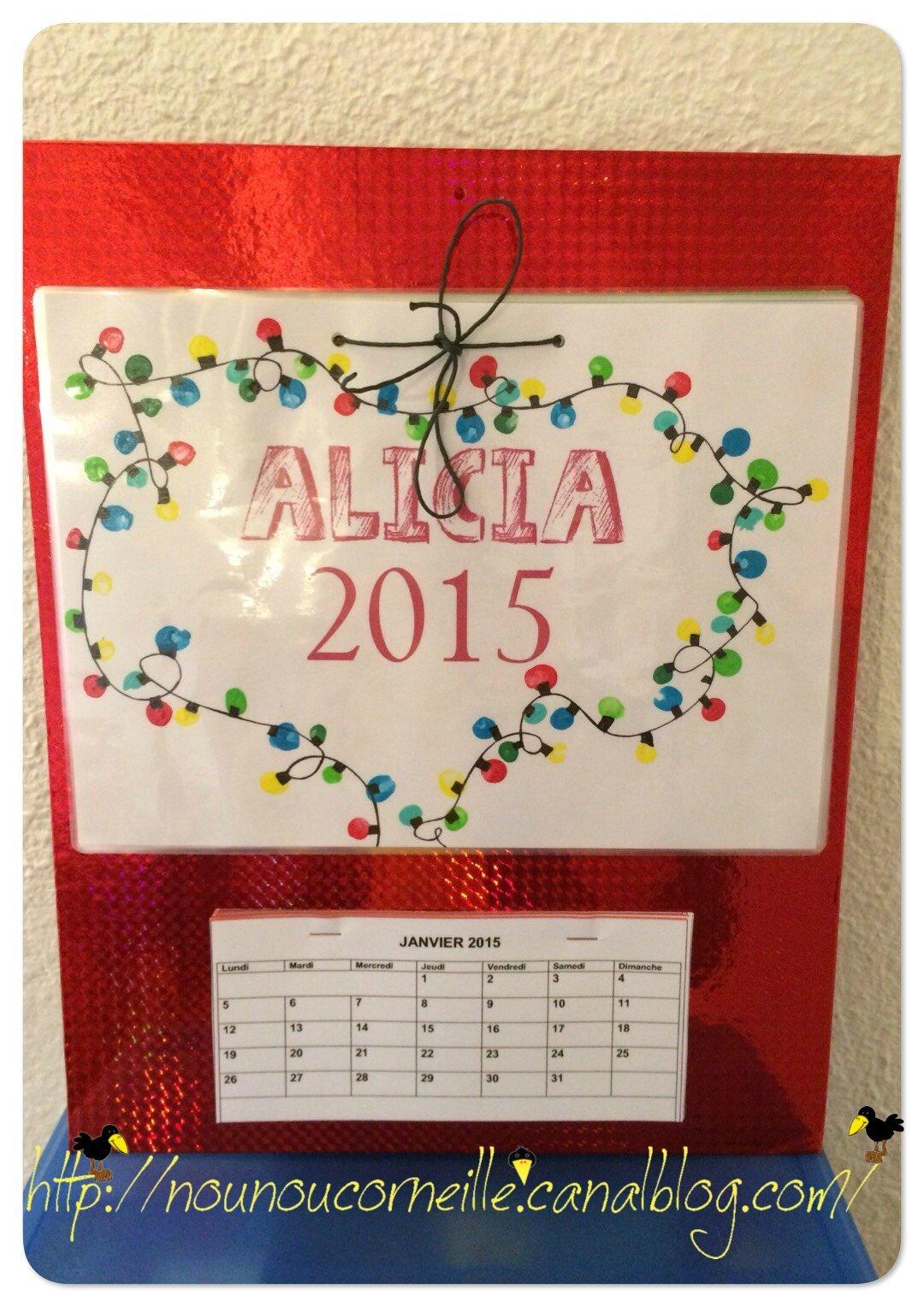 calendrier alicia 2014