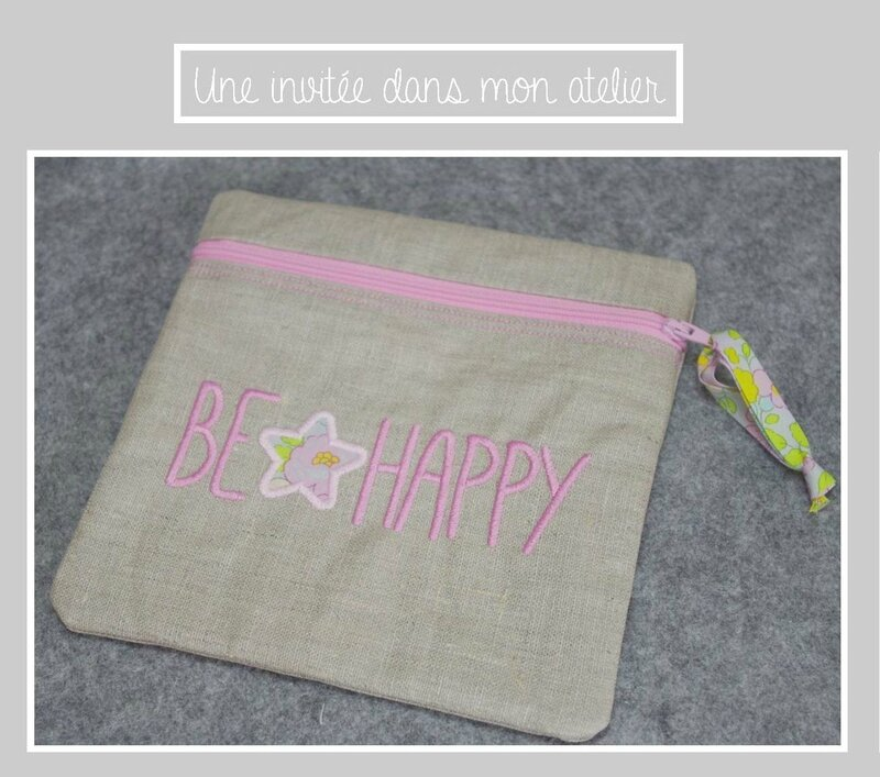 trousse carrée-be happy-Liberty besty béryl