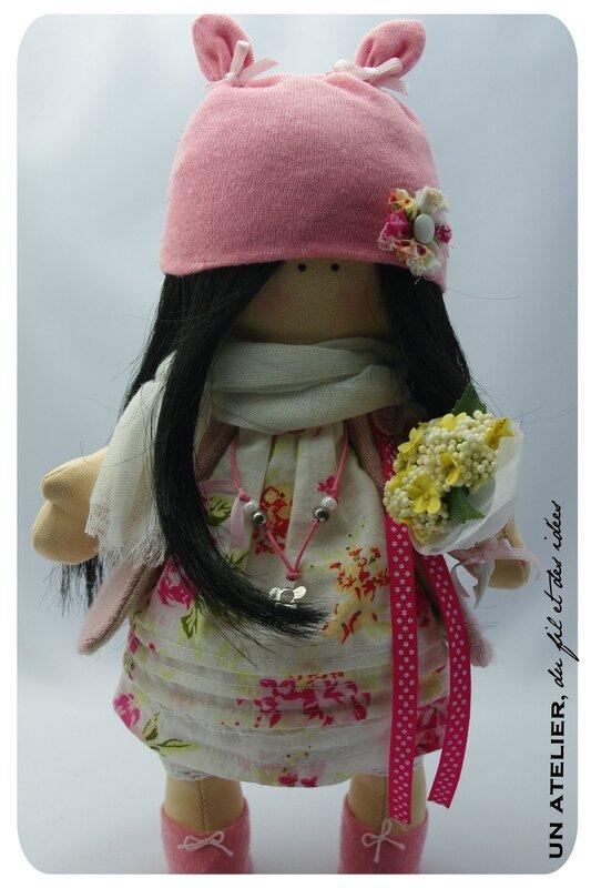 poupée Rose2