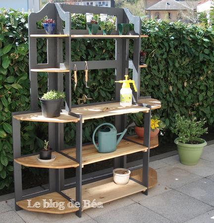 L'étagère du jardinier
