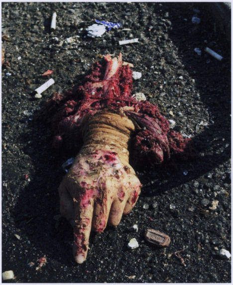 30. Todd MAISEL, The Hand, 9/11, New York, 2001.