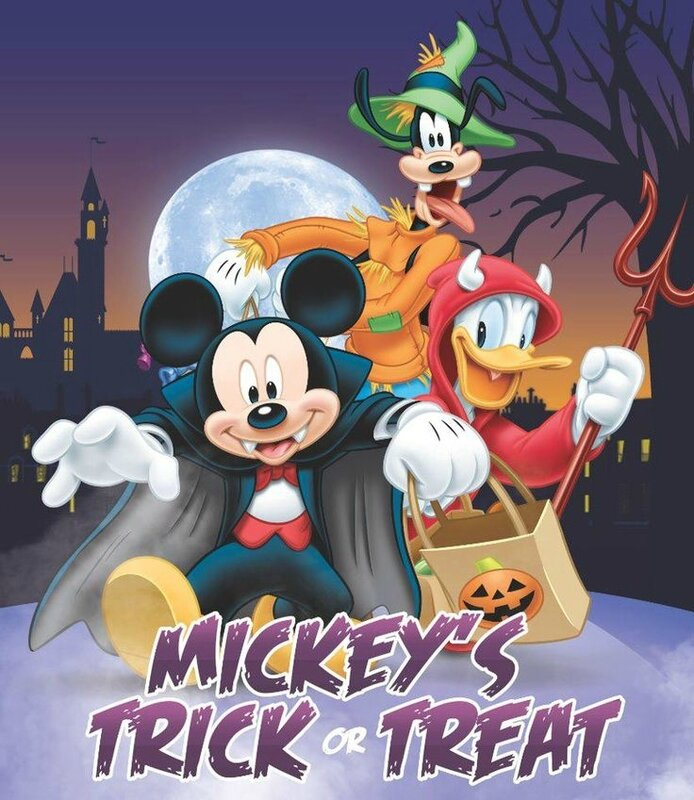 holloween disney mickey