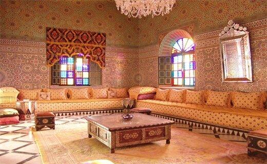 salon marocain moderne palais - Salon marocain moderne
