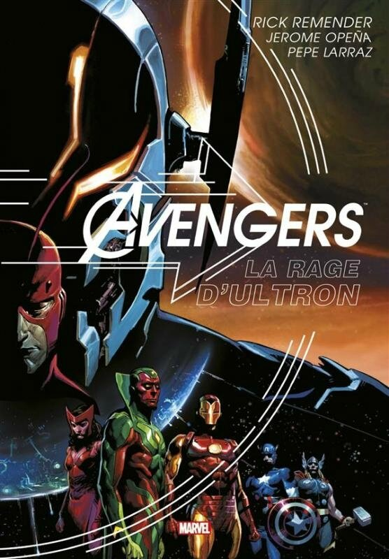 graphic novel avengers la rage d'ultron