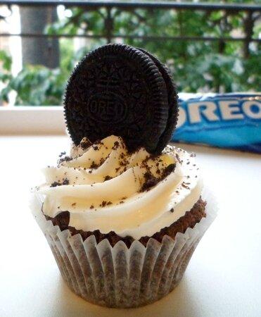 Cupcake Oréos